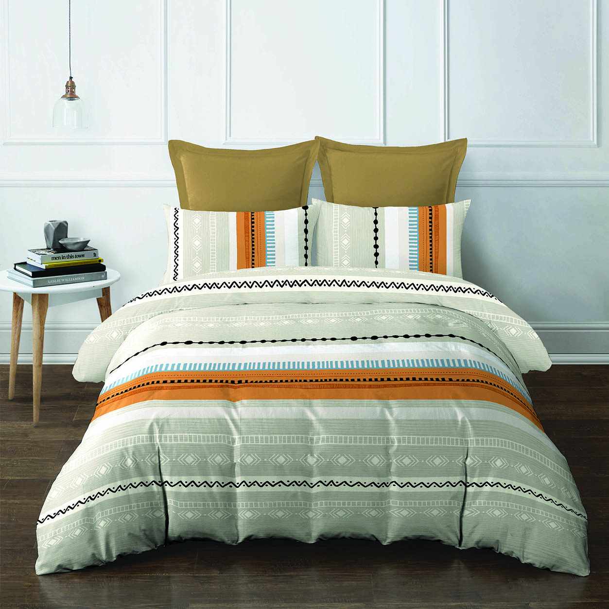 2pcs Super Single Fitted Set (420 thread count, smooth cotton)