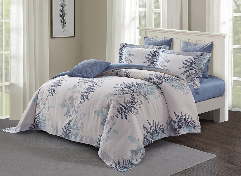 5pcs Queen Quilt Cover Set (1000 thread count, Tencel natural plant fiber) - Norele