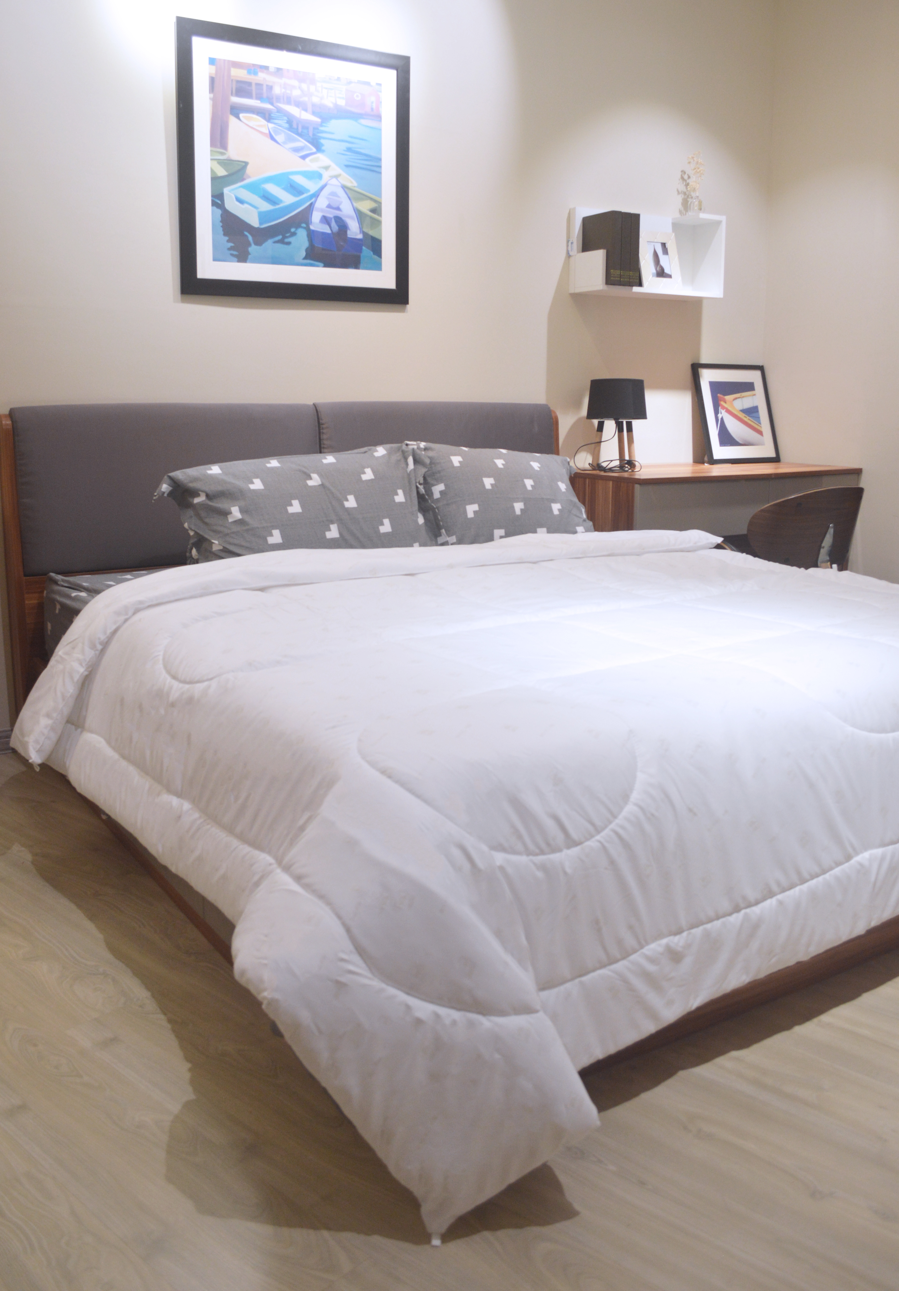 Jean Perry ADM White Quilt