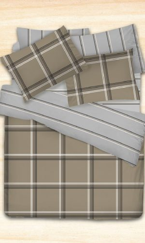 Cotonsoft Korecca Collection – Hagues (Quilt Cover Set, 450 thread count, smooth cotton)