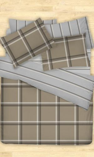 Cotonsoft Korecca Collection Hagues (Quilt Cover Set, 450 thread count, smooth)