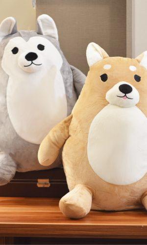 Cotonsoft Safari Garden Plushie – Standing Dog